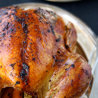 Roasted Turkey with Herb Butter & Roasted Shallots