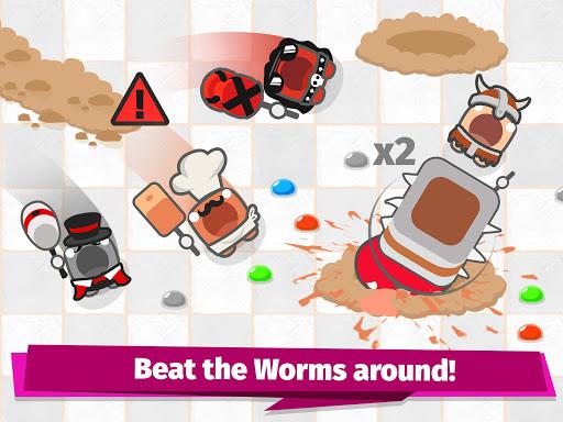 Smashers.io Foes in Worms Land 1.8 screenshots 6