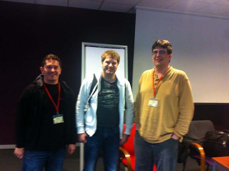 Photo: Ermal, Seth & Chris