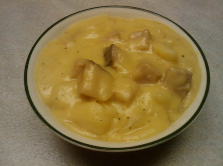 Cheesy Ham and Potatoes Recipe