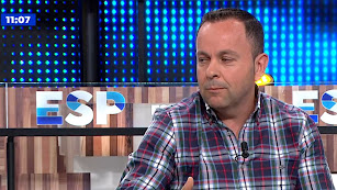 Sergio Fernández, ayer en Antena 3 TV.
