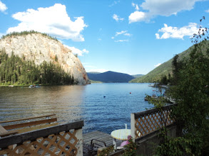 Photo: View from the second porch of the cabin