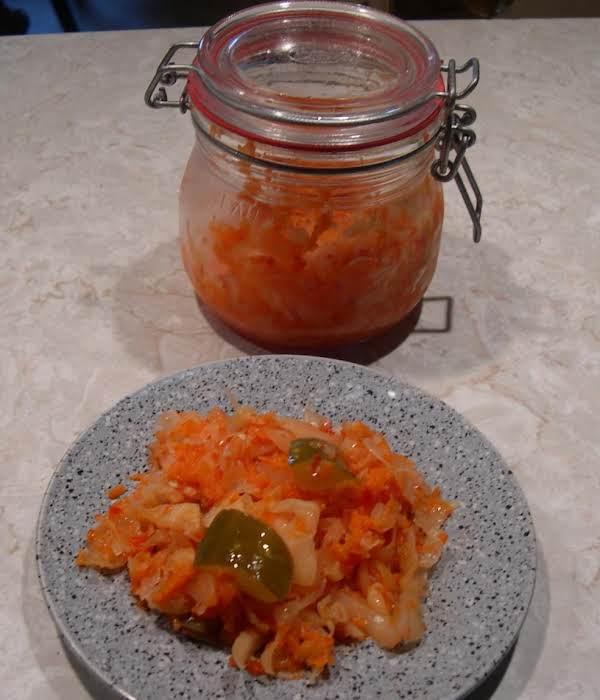 Fermented Vegetables (kimchi)