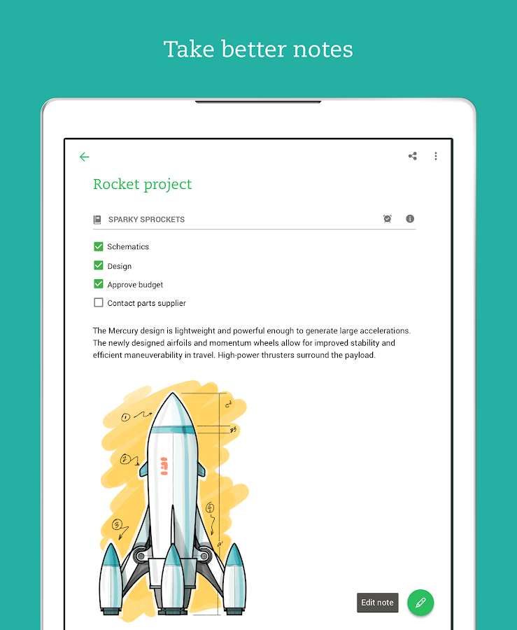 Evernote – Take Notes, Plan, Organize- screenshot