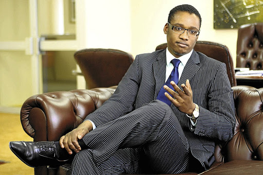 Conflicted: Duduzane Zuma, according to leaked e-mails, set up meetings between his father and Russia investment company Sistema Joint Stock Financial Corporation. Sunday Times