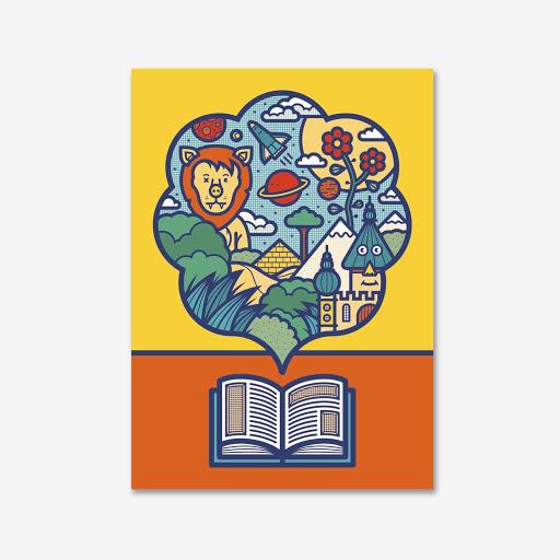 Affiche Magicien d'Oz  Gicquel A3
