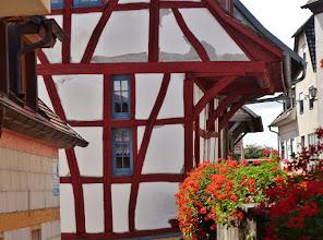 Photo: Burkheim: Fachwerk 1