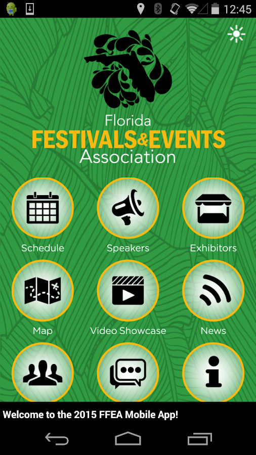 FFEA Convention & Tradeshow- screenshot