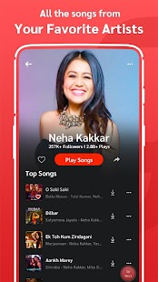 Gaana Music - Hindi Tamil Telugu MP3 Songs App Screenshot