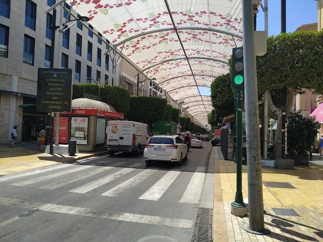 Paseo de Almería en la actualidad