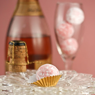 Pink Champagne Truffles for Dog'n Bird Artful Wedding