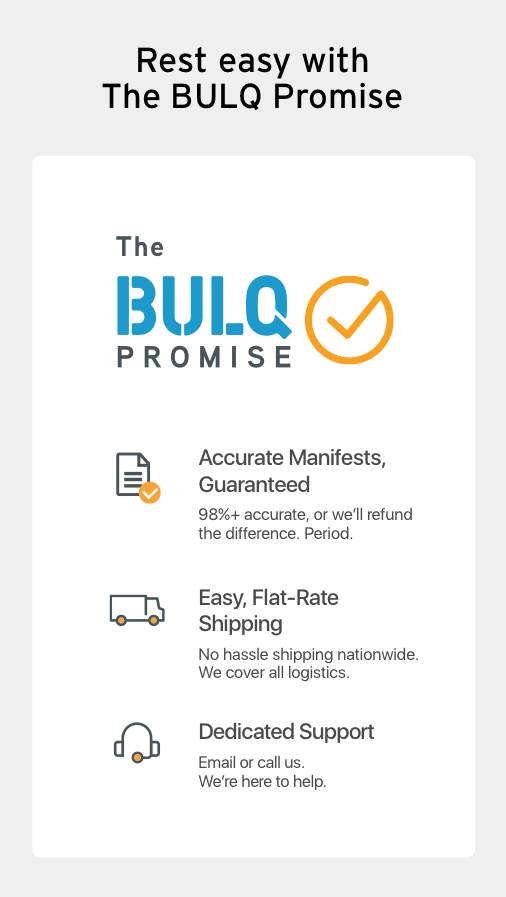 BULQ - Source Smarter, Sell Better- screenshot