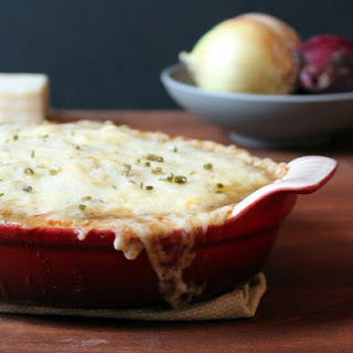 French Onion Baked Gnocchi