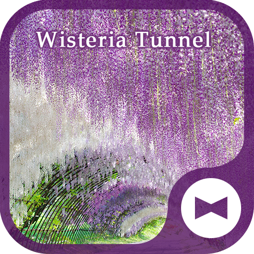 Wallpaper Wisteria Tunnel Icon