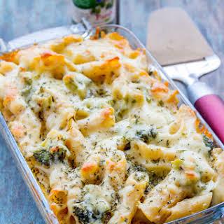 Easy Cheesy Broccoli Pasta Bake.