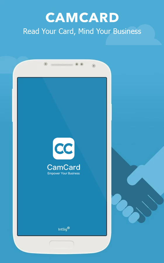 CamCard - Business Card Reader- screenshot