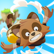 Download Game Tanoo Jump - Tanukis VS Pandas [Mod: a lot of money] APK Mod Free