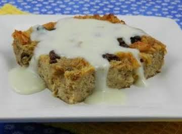 Bread pudding ( easy )