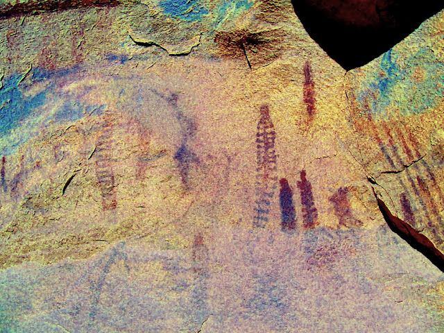DStretch enhanced pictographs