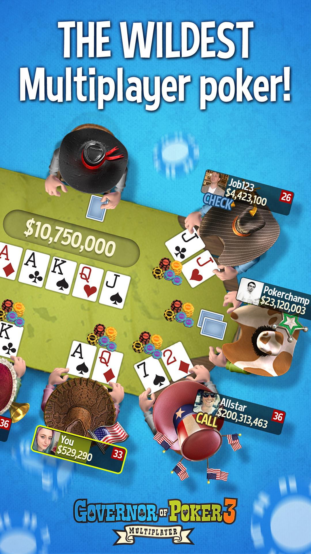 Governor of Poker 3 - HOLDEM screenshot #1