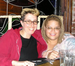 Photo: With NY-based writer Nancy Goldstein.