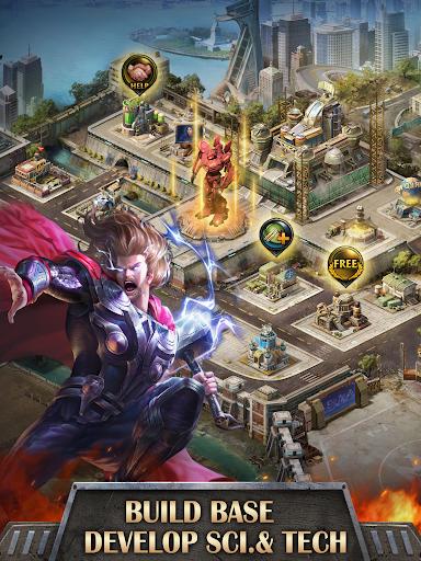 Mutants War: Heroes vs Zombies MMOSLG apktram screenshots 11