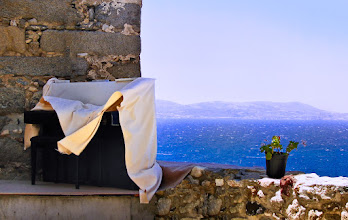 Photo: silent music  one of my two big loves in music. shot in the old town of Naxos, last year.  for #WeLoveMusicWednesday curated by +Folletto Folletto