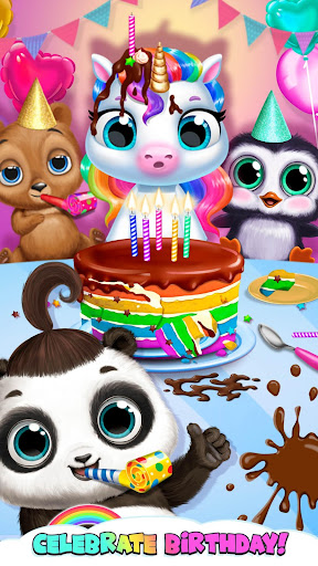 Download My Baby Unicorn - Virtual Pony Pet Care & Dress Up For PC 2