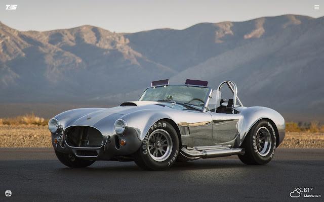 Shelby Cobra HD Wallpapers New Tab Theme