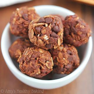 Chocolate Cherry Energy Bites