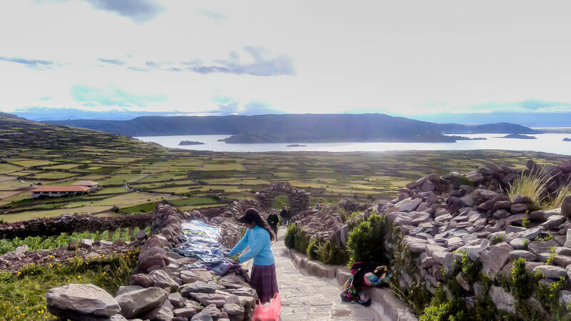 panchamama+isla+amantani+puno+lake+titicaca+peru+south+america