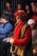 Photo: Solanio. Merchant of Venice, Shakespeare Center Los Angeles. Photo, Michael Lamont.