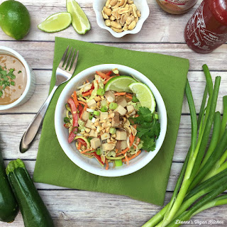 Peanutty Pad Thai Zoodles