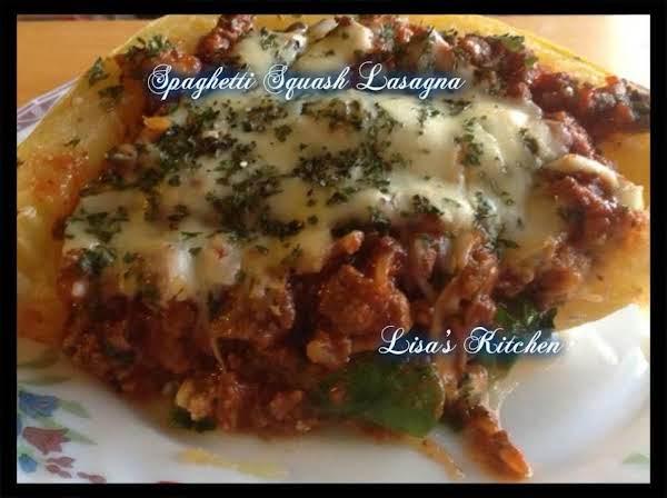 Spaghetti Squash Lasagna Recipe