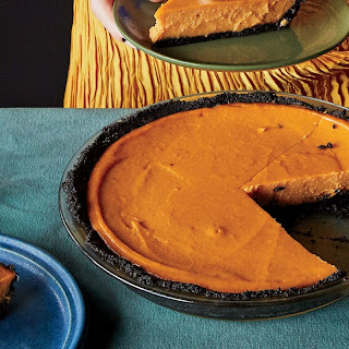Sweet Potato–Miso Pie with Chocolate-Sesame Crust Recipe | Epicurious.Com Recipe