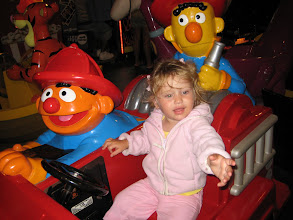 Photo: Leah finds Bert and Ernie in Ocean City