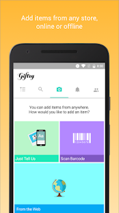 Giftry: Wish List Shopping App - náhled