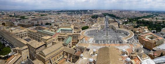 Photo: Panoráma a bazilika tetejéről