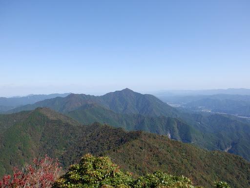 栗ノ木岳から局ヶ岳