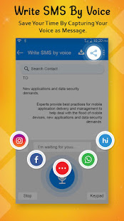 Download Write SMS by Voice: Voice Text Messages For PC Windows and Mac apk screenshot 5