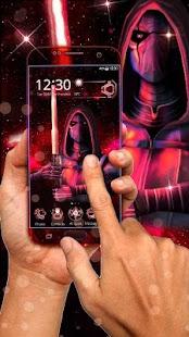 3D Tech Blood Warrior Theme - náhled