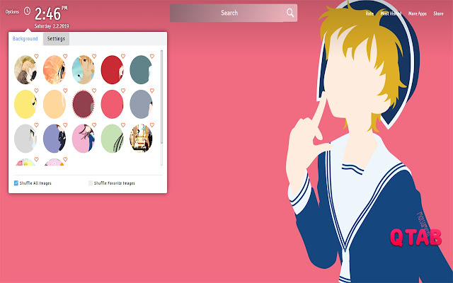 Fruits Basket Wallpapers New Tab