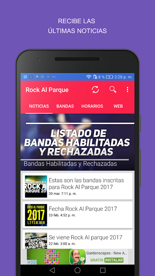 Rock Al Parque 2017- screenshot
