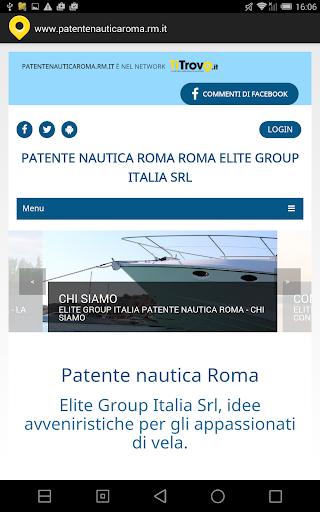 Patente Nautica Roma Rm