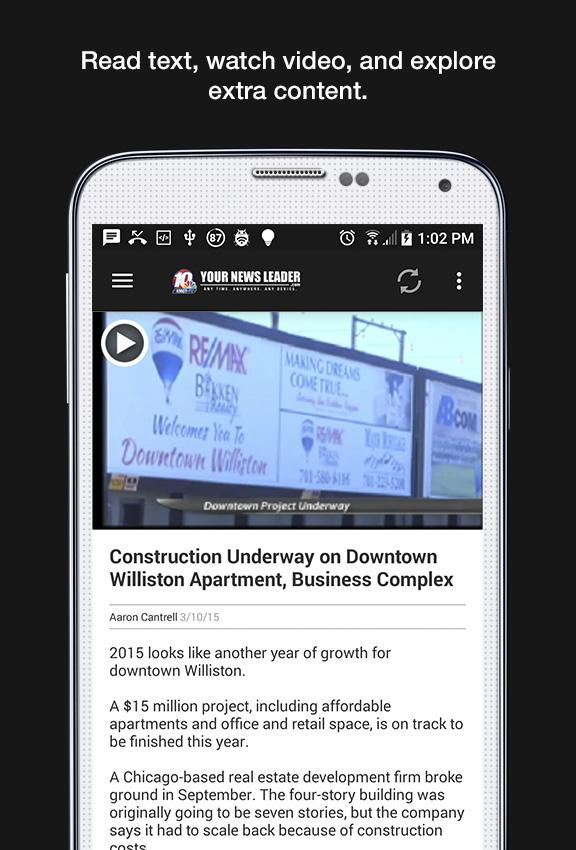 KMOT Mobile News- screenshot