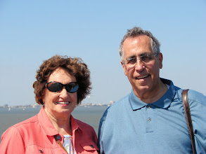 Photo: Gordon and Mary at Fort Sumter