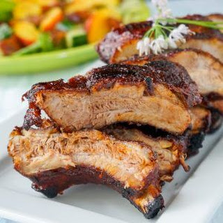Make Ahead Ribs - braised, then grilled!
