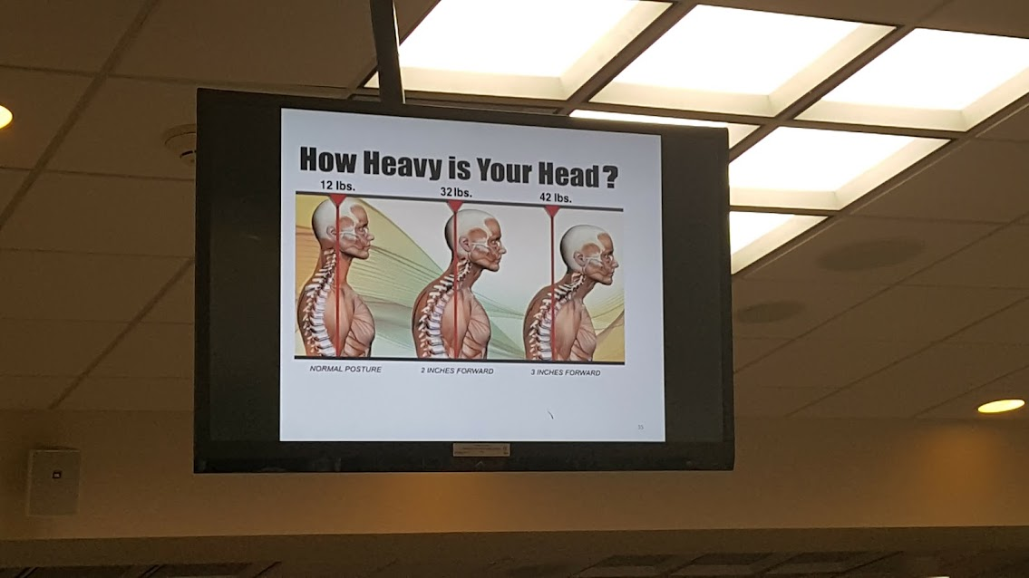 posture and head location