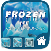Frozen Ice Theme For Computer Launcher