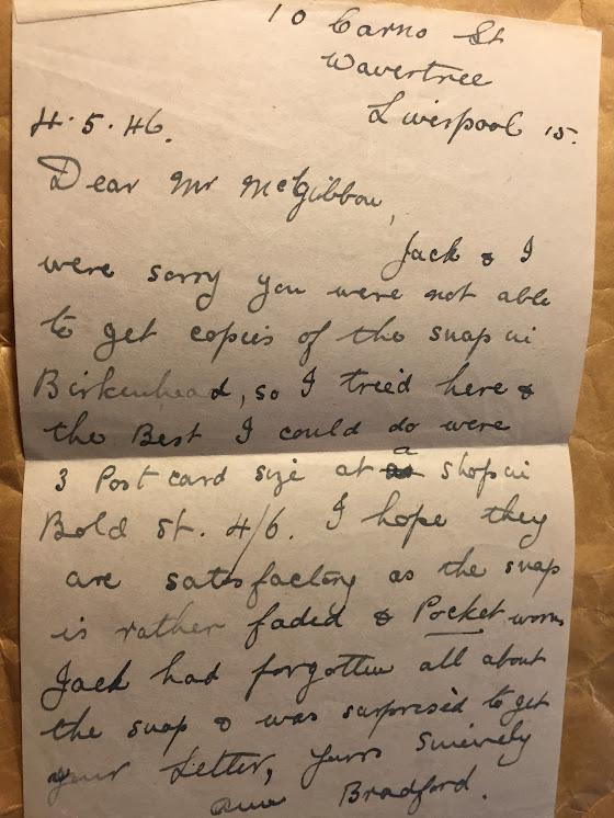 Bradford letter